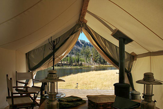 Yellowstone Under Canvas