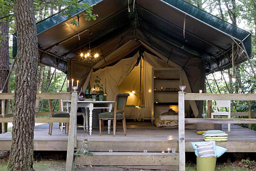 camping les ormes glamping safari lodge dans le lot et garonne glamping gallery. Black Bedroom Furniture Sets. Home Design Ideas